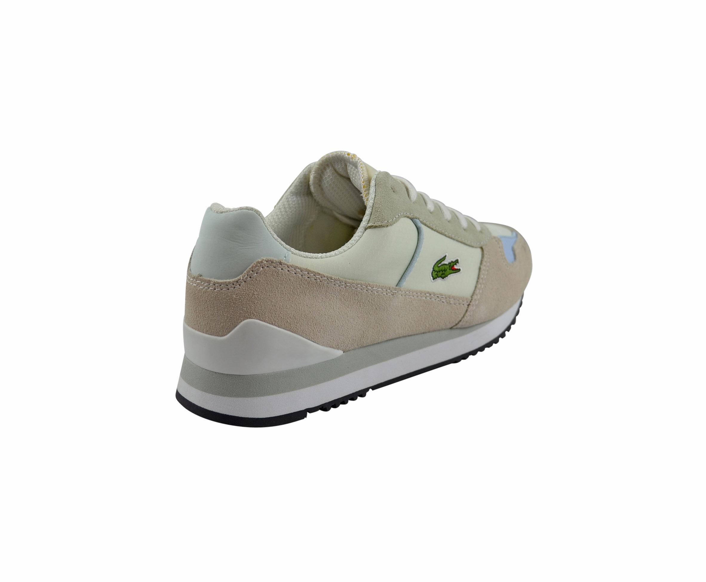 Lacoste Trajet MR LEW off white light blue Schuhe Sneaker