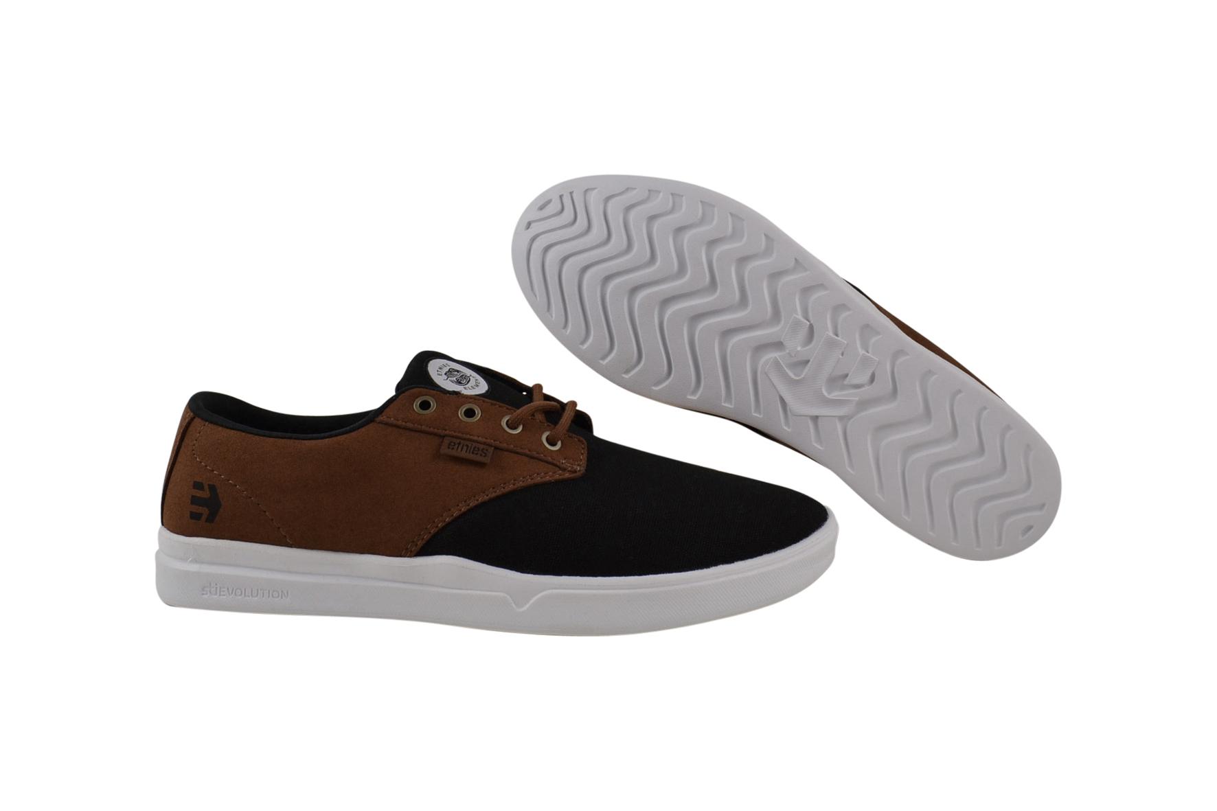 Detalles de Etnies Jameson Sc X Element BlackMarrón Zapatillas Zapatos Negro Braun