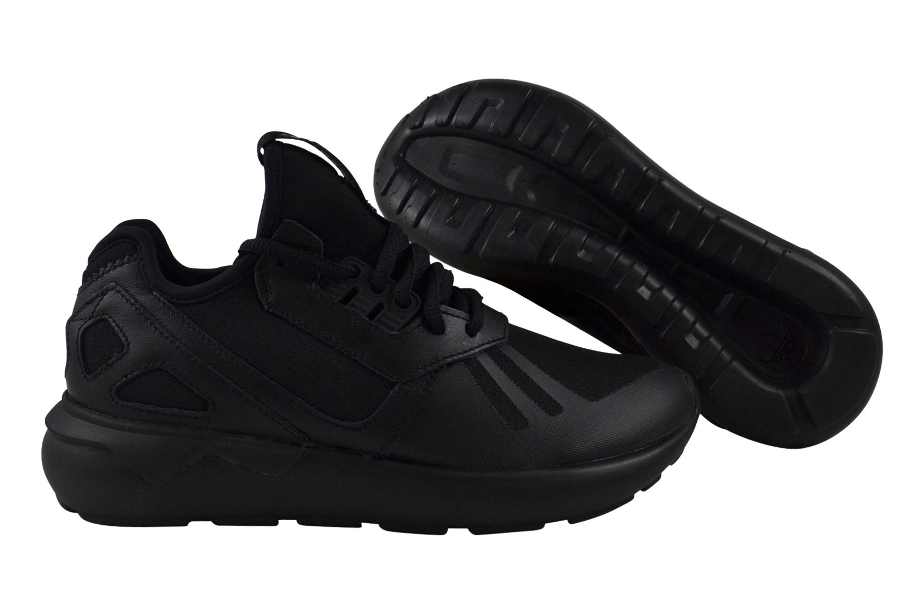 Adidas Tubular Runner core black unisex Damen Herren Schuhe schwarz B25089