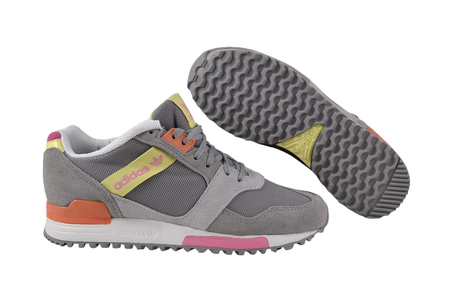 Adidas ZX 700 Contemp grau gelb Turnschuhe Schuhe  Ausgezeichnete Qualität