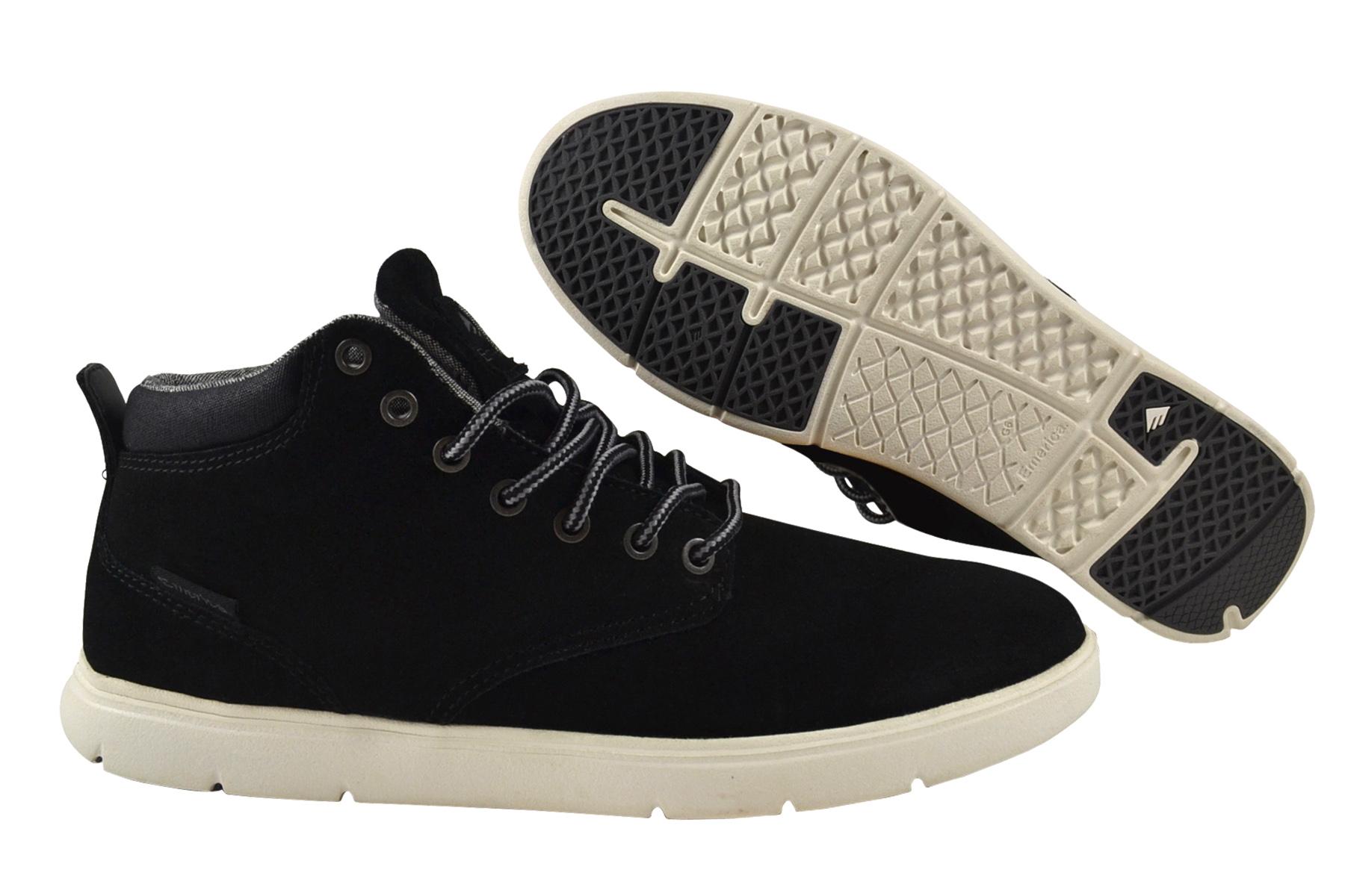 30f4abacf63111 Emerica Wino Cruiser HLT black white Sneaker Schuhe schwarz