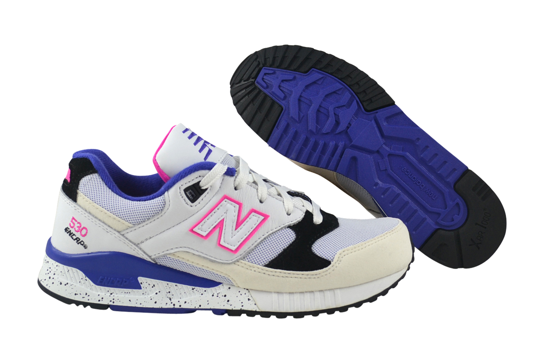f09b2b67da420e New Balance M530 KIE white purple Sneaker Schuhe weiß