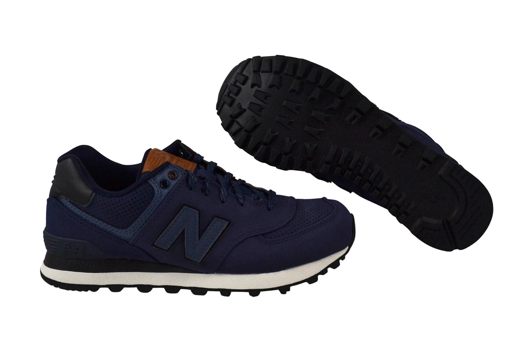 Details zu New Balance ML574GPF navy Schuhe Sneaker blau