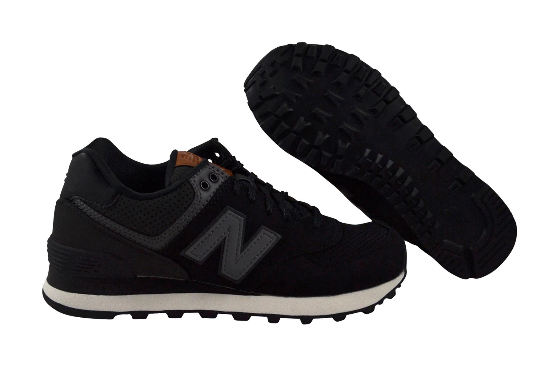 Details zu New Balance ML574 GPG black Schuhe Sneaker schwarz