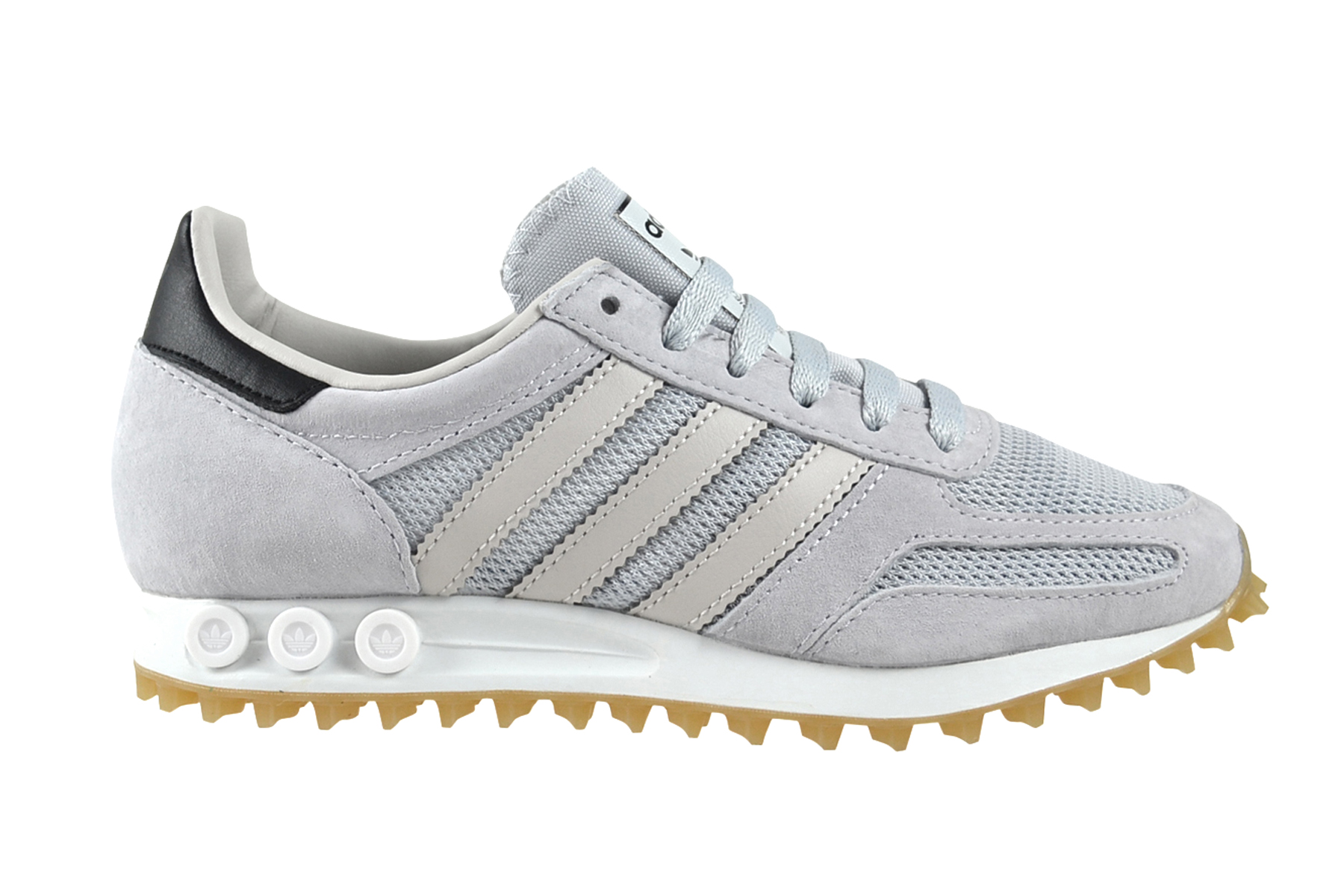 Details zu Adidas LA Trainer OG clear grey gum4 Sneaker Schuhe grau BB1209