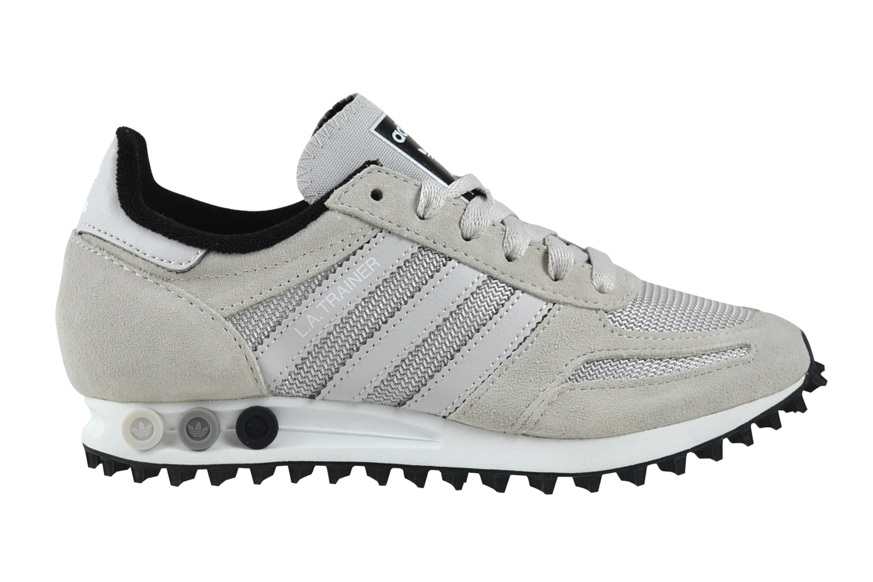 Details zu Adidas LA Trainer OG grey one core black Sneaker Schuhe grau BY9327