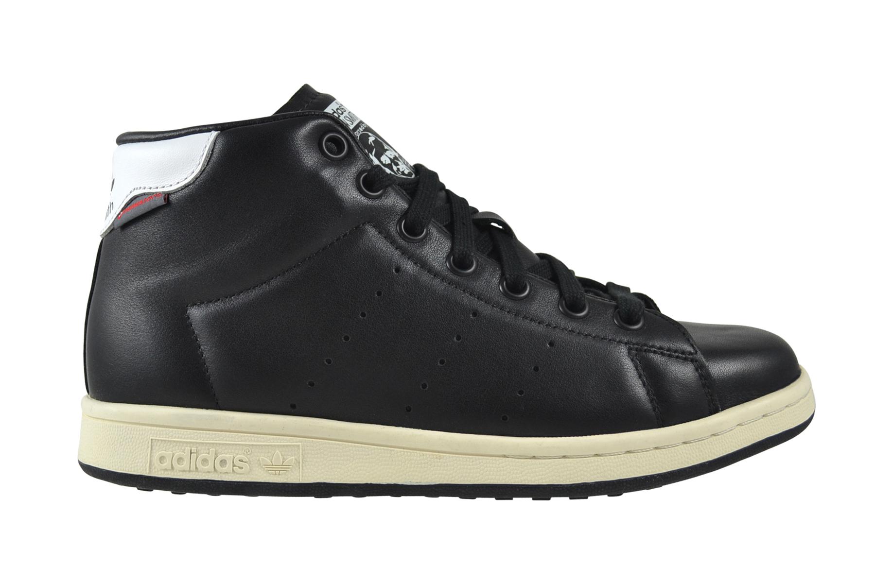 Adidas Stan Smith Winter core schwarz Weiß schwarz Schuhe