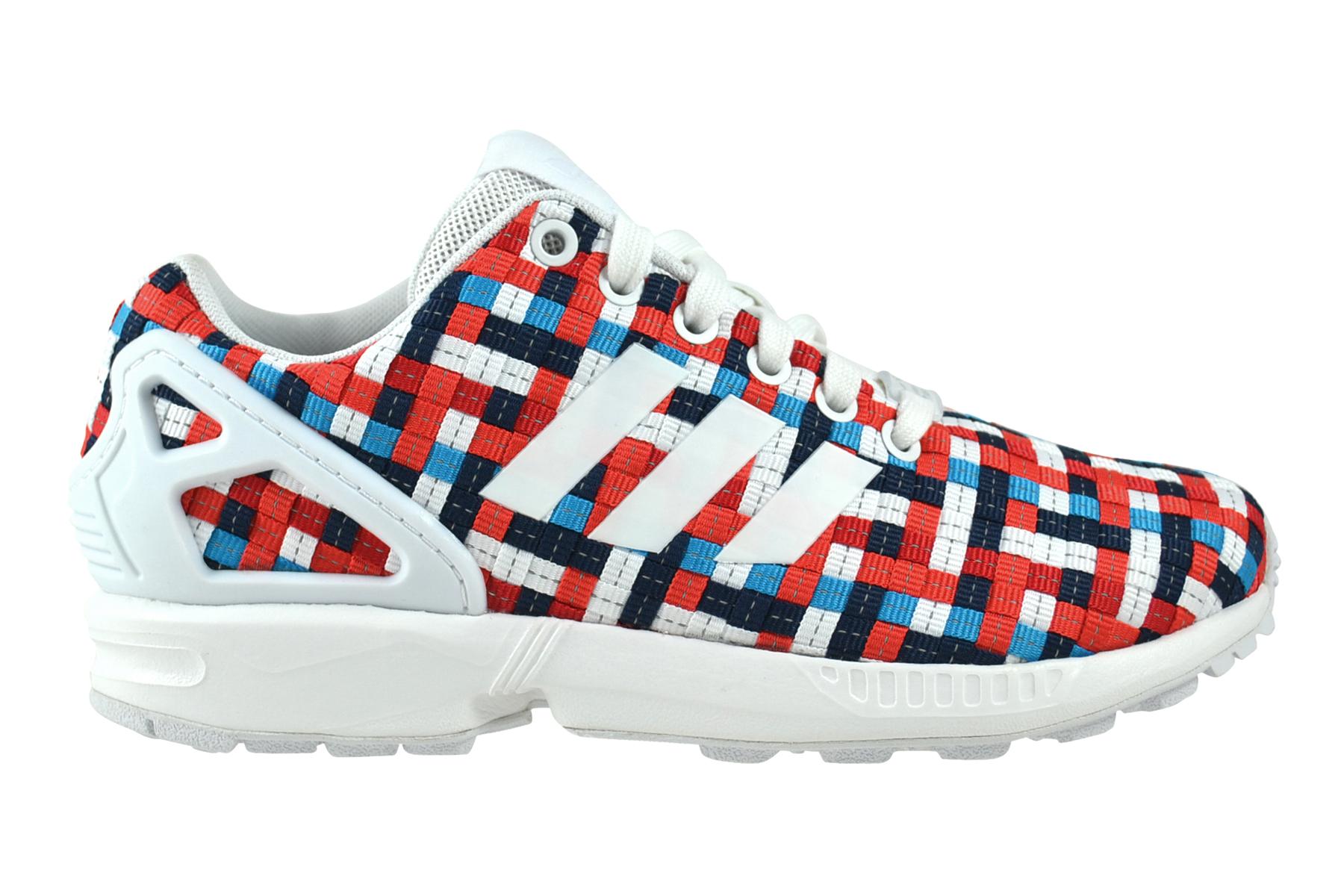 Unidad Girar en descubierto O  Adidas Zx Flux Blanco Azul, Rojo Zapatillas Deportivas Varios Colores  S82750 | eBay