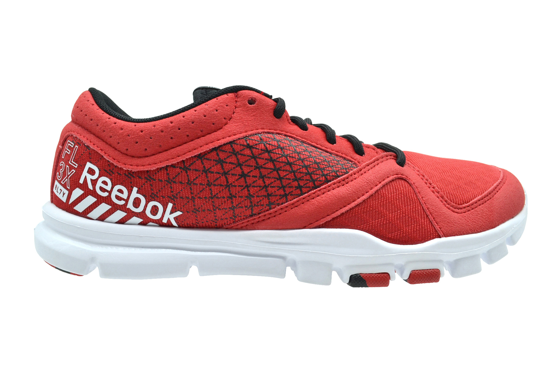 Reebok Yourflex Train 7 red rush black white Sneaker Schuhe